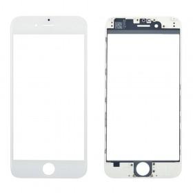 Стекло корпуса с рамкой и OCA для iPhone 6,  цвет white