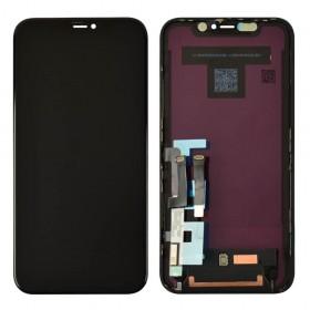 Дисплей для iPhone 11 (6.1) с тачскрином в сборе,  цвет черный, оригинал