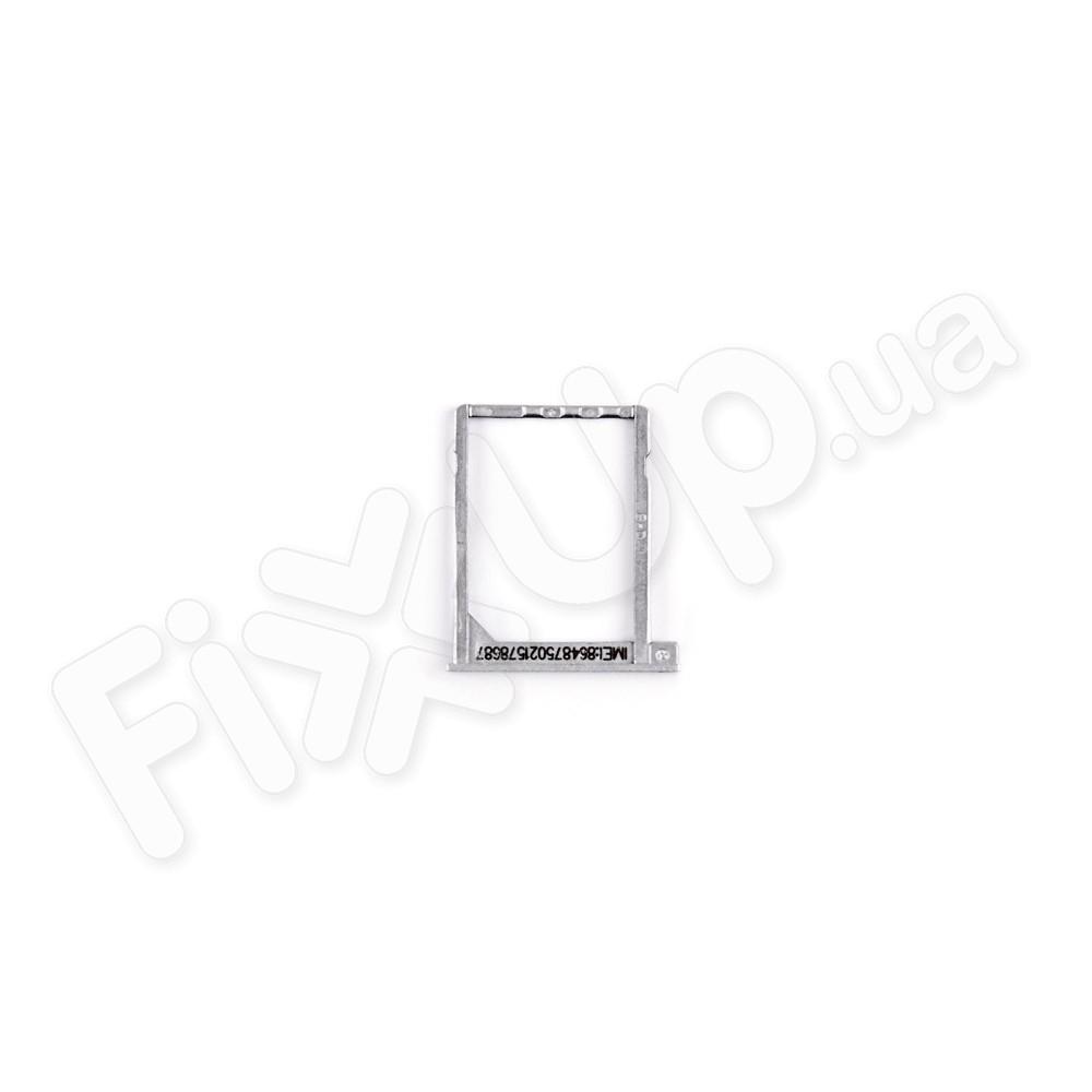 Держатель (лоток) для SIM карты Huawei P6-U06, цвет серый фото 1