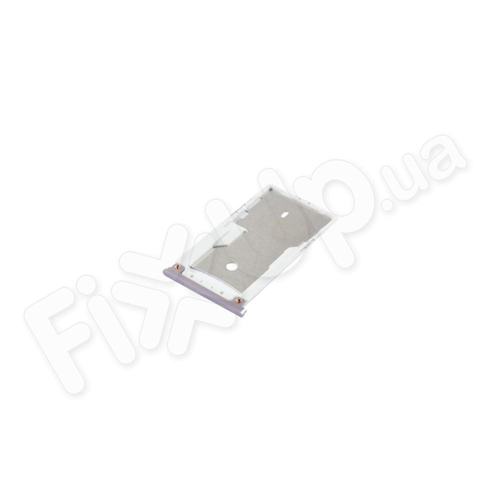 Лоток для сим карты Xiaomi Redmi Note 4, цвет серый фото 1