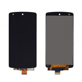 Дисплей LG Google Nexus 5 D821 (D820, D822) с тачскрином в сборе, без рамки, high copy,  цвет black