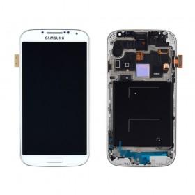 Дисплей Samsung Galaxy S4 i9500 с тачскрином в сборе,  цвет white, original change glass, с рамкой