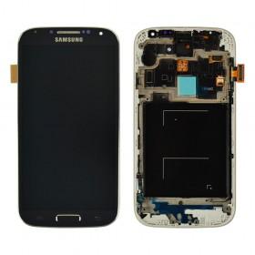 Дисплей Samsung Galaxy S4 i9500 с тачскрином в сборе, с рамкой,  цвет black, original change glass