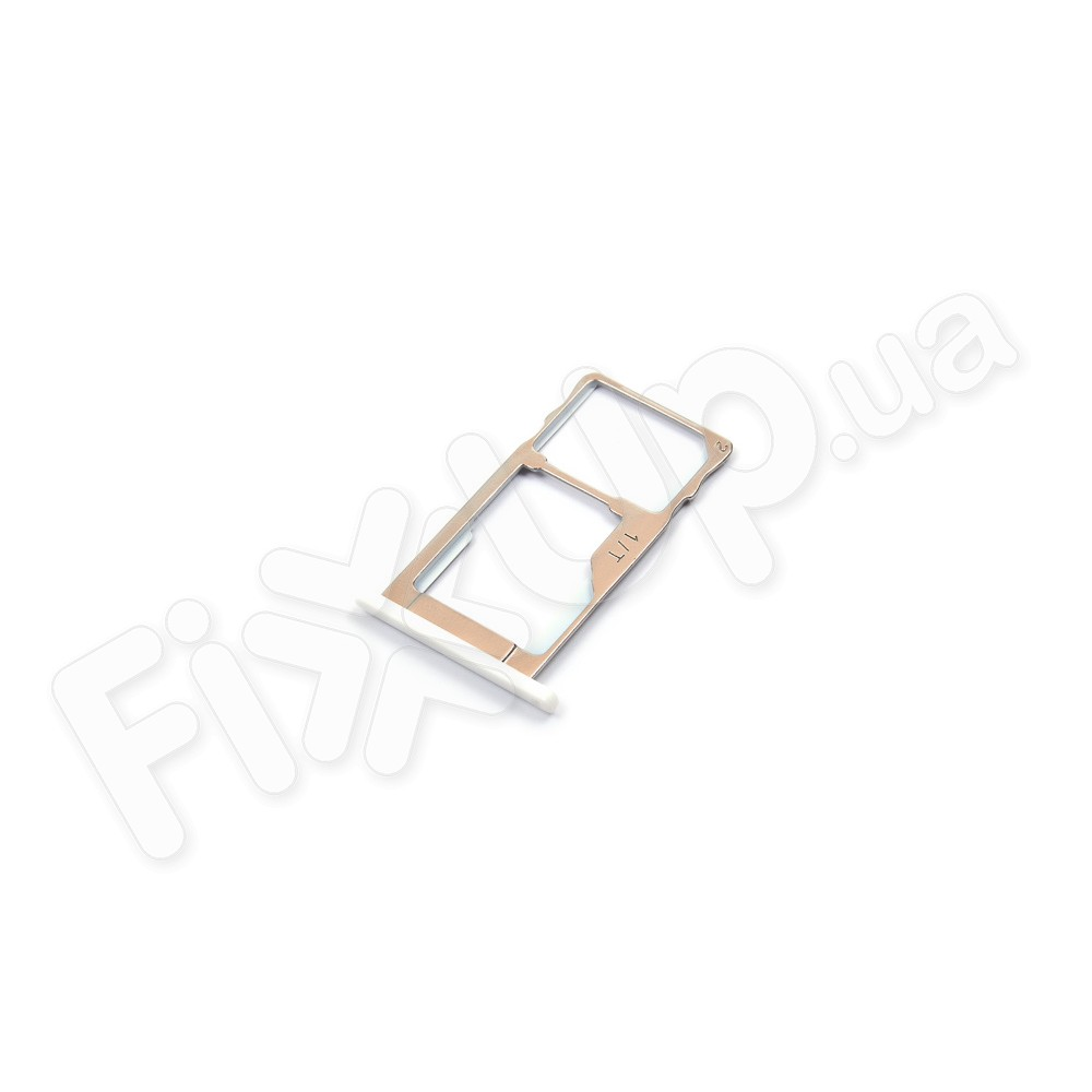 Лоток для сим карты Meizu M2 Note, цвет белый фото 1