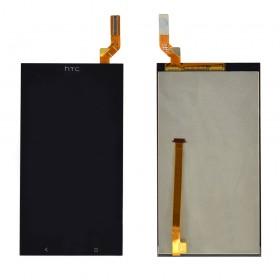 Дисплей HTC Desire 700 с тачскрином в сборе,  цвет black, без рамки