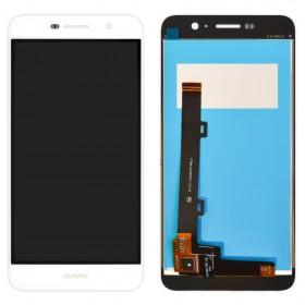 Дисплей Huawei Y6 Pro, Enjoy 5 (TIT-AL00/TIT-U02) с тачскрином в сборе, копия, без рамки,  цвет белый