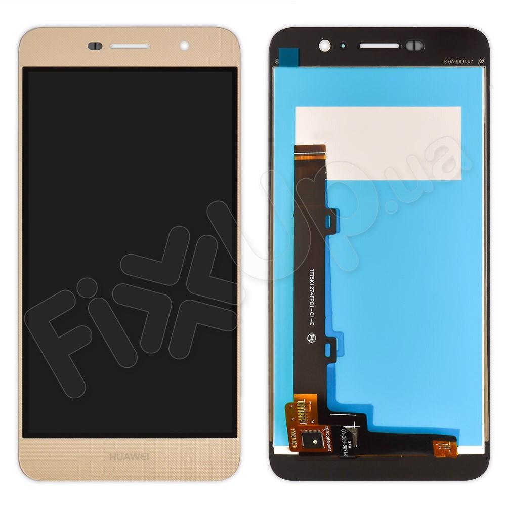 Дисплей Huawei Y6 Pro, Enjoy 5 (TIT-AL00/TIT-U02) с тачскрином в сборе, цвет золотой фото 1