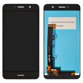Дисплей Huawei Y6 Pro, Enjoy 5 (TIT-AL00/TIT-U02) с тачскрином в сборе, копия, без рамки,  цвет черный