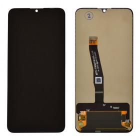 Дисплей для Huawei P Smart 2019 (POT-L21/POT-LX1) с тачскрином в сборе, без рамки,  цвет черный, копия высокого качества