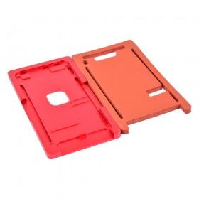 Форма металлическая с ковриком для склеивания модулей iPhone 8 Plus, для стекла с рамкой