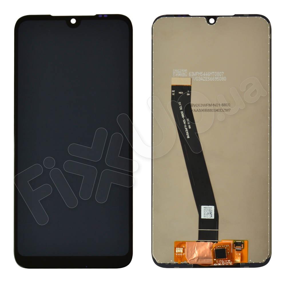 Дисплей для Xiaomi Redmi 7 с тачскрином в сборе, цвет черный, копия высокого качества фото 1