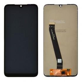 Дисплей для Xiaomi Redmi 7 с тачскрином в сборе,  цвет черный, копия высокого качества, без рамки