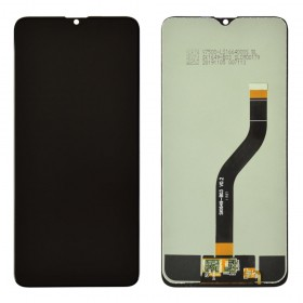 Дисплей для Samsung A107F /DS Galaxy A10s с тачскрином в сборе, без рамки,  цвет черный, оригинал замененное стекло