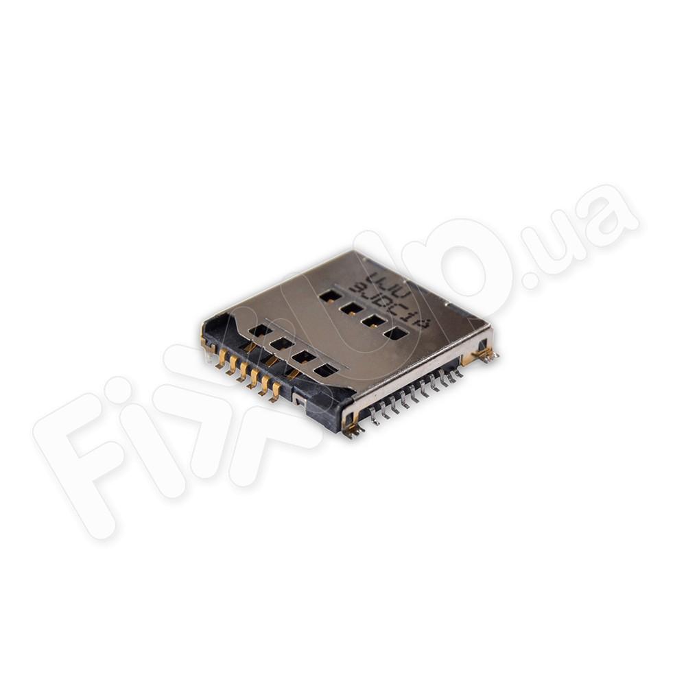 Слот для сим карты Samsung S5230, C3010, C3011, P900, S5230w фото 1