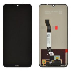 Дисплей для Xiaomi Redmi Note 8T с тачскрином в сборе,  цвет черный, оригинал, без рамки