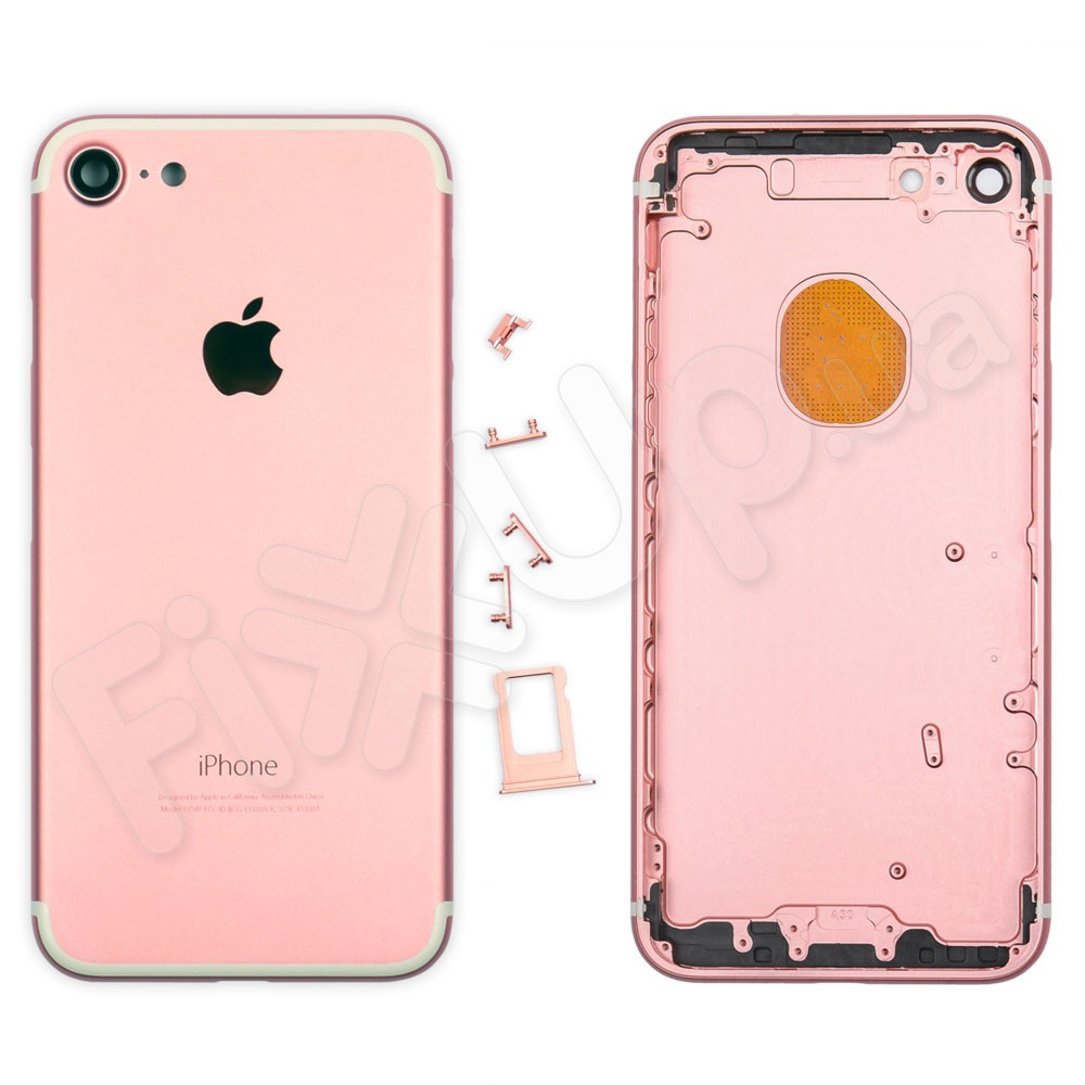 Корпус iPhone 7 (4.7), цвет розовый фото 1