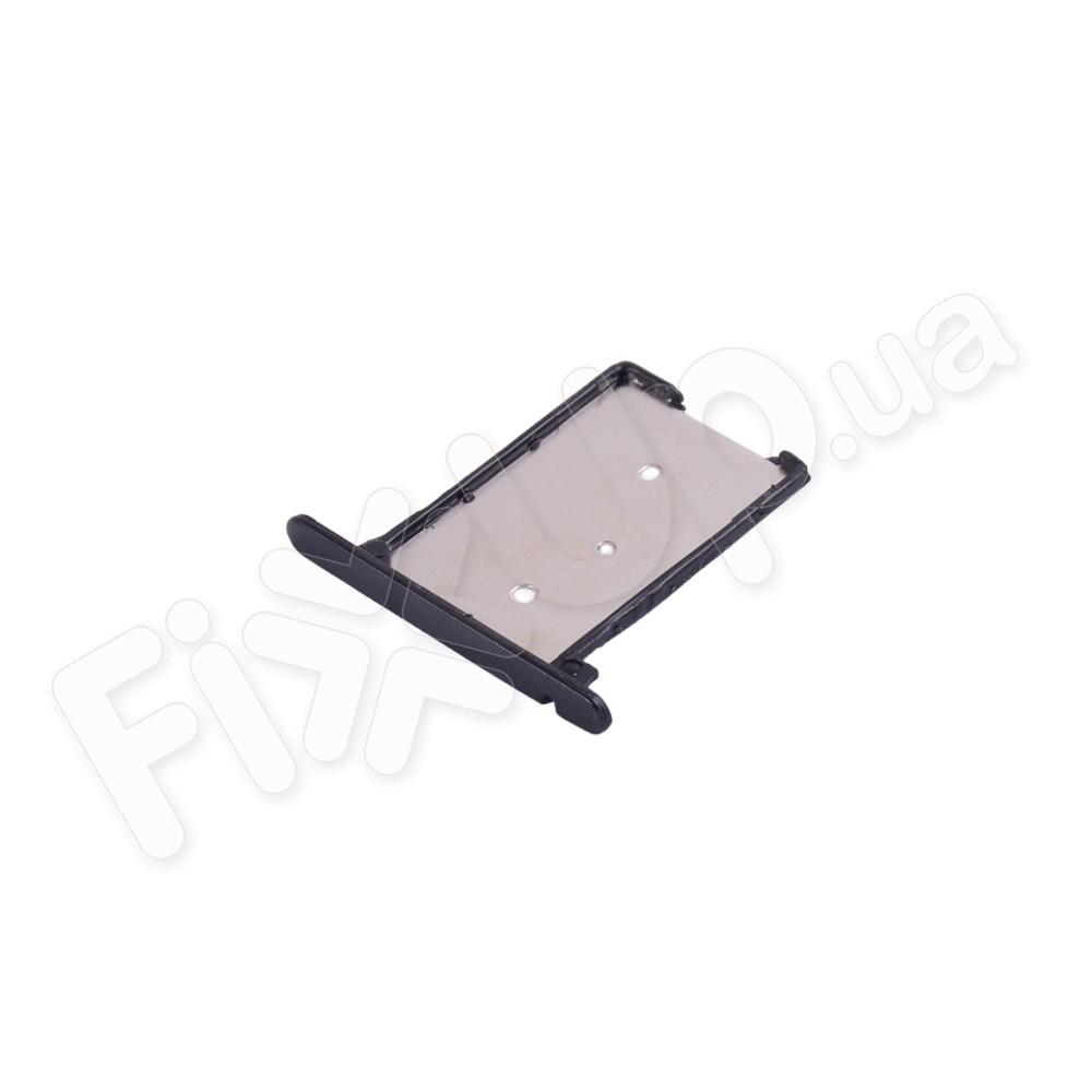 Держатель сим карты Xiaomi Mi3, цвет черный фото 1