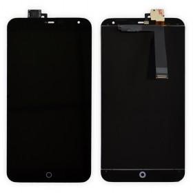 Дисплей Meizu MX4 с тачскрином в сборе,  цвет черный, без рамки
