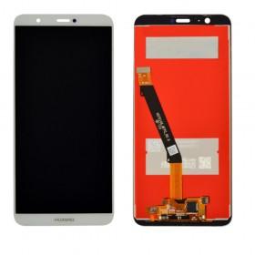 Дисплей для Huawei P Smart/Enjoy 7s (FIG-L31/FIG-LX1) с тачскрином в сборе,  цвет белый, без рамки, копия
