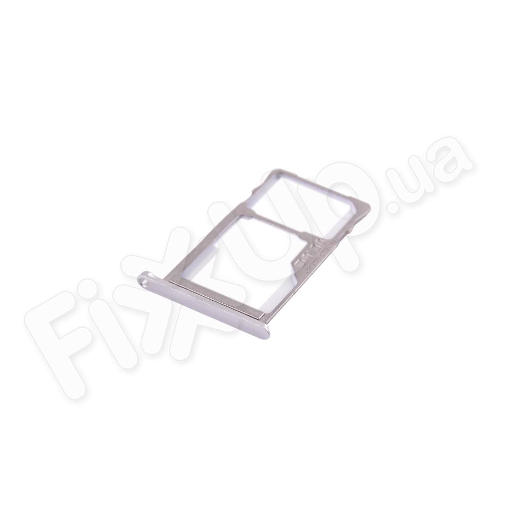 Держатель сим карты Meizu M5S, цвет серебро фото 1