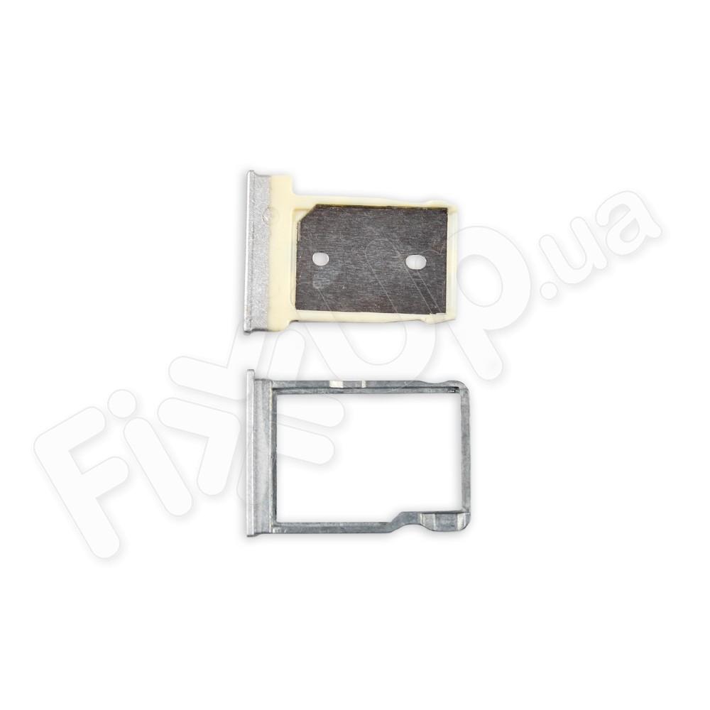 Лоток для сим карты и карты памяти HTC One M9, цвет белый фото 1