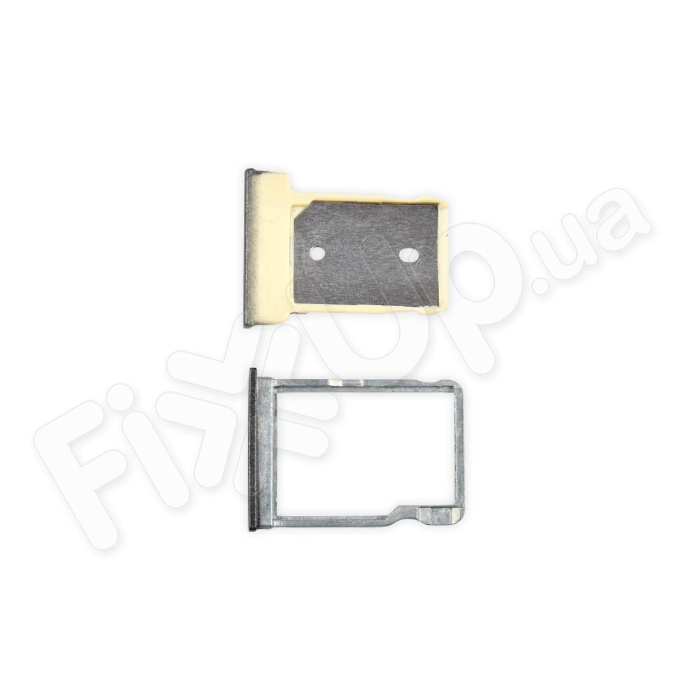 Лоток для сим карты и карты памяти HTC One M9, цвет серый фото 1