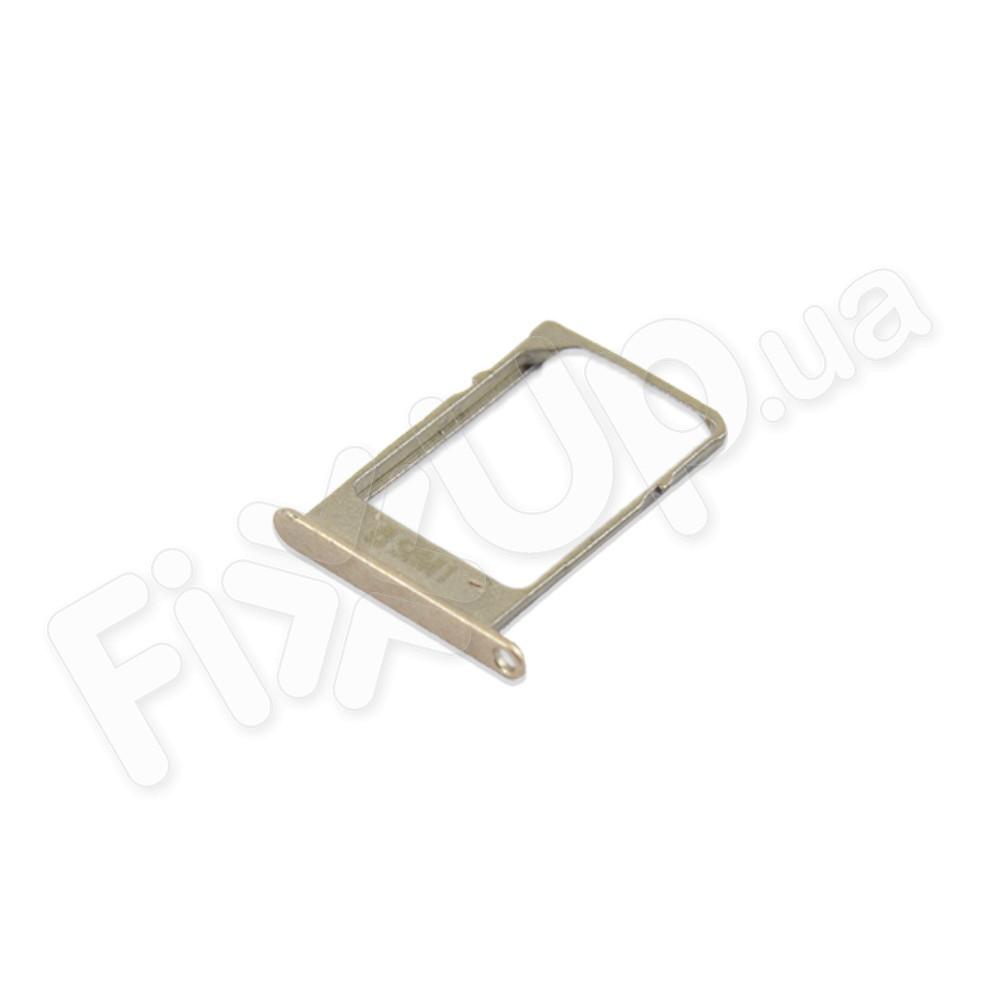 Лоток для сим карты Samsung A300H, A500H, A700H, цвет золотой фото 1