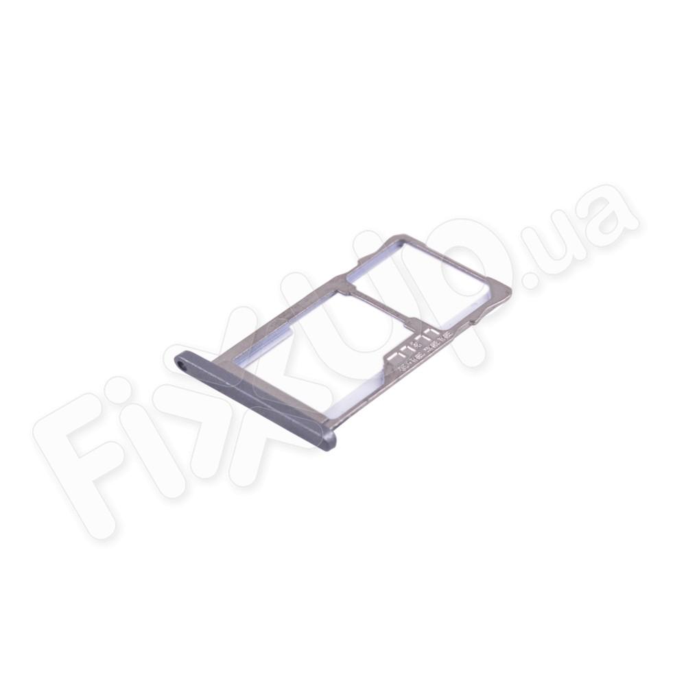Держатель сим карты Meizu M2, M2 mini, цвет серый фото 1