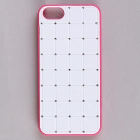 Чехол 7Mobile Back Case для iPhone 5, 5S, SE White-Pink