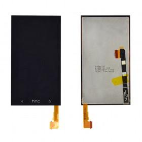Дисплей HTC One M7 801, 801e, 801n с тачскрином в сборе, без рамки,  цвет black
