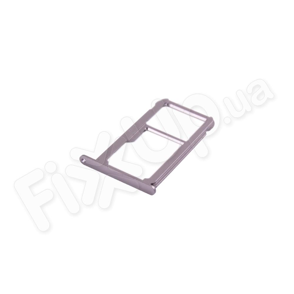 Держатель сим карты Huawei P9, цвет серебро фото 1