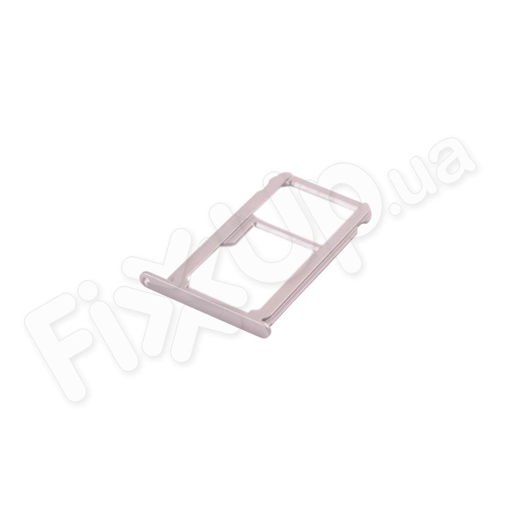 Держатель сим карты Huawei P9, цвет серый фото 1