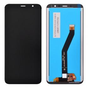 Дисплей для Meizu M6T с тачскрином в сборе,  цвет черный, копия, без рамки