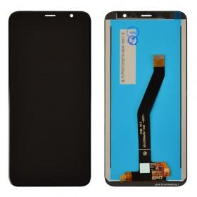 Дисплей для Meizu M6T с тачскрином в сборе,  цвет черный, оригинал, без рамки