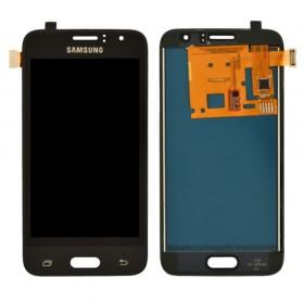 Дисплей Samsung Galaxy J1 J120H/DS (2016) с тачскрином в сборе, без рамки, prc tft с регулировкой,  цвет black