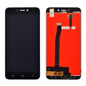 Дисплей Xiaomi Redmi 4X с тачскрином в сборе,  цвет черный, копия высокого качества, без рамки