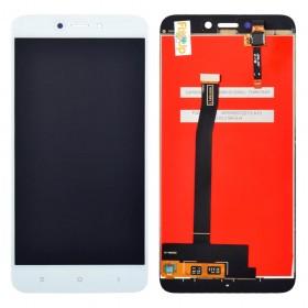Дисплей Xiaomi Redmi 4X с тачскрином в сборе, копия высокого качества, без рамки,  цвет белый