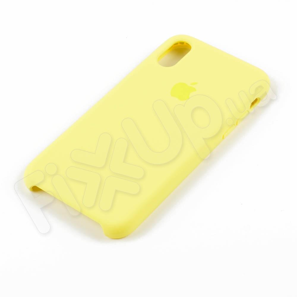 Силиконовый чехол для iPhone Xs (5.8), цвет lemonade фото 2