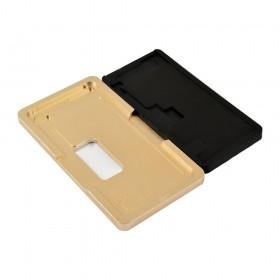 Форма для склеивания дисплея iPhone XS Max (6.5), для стекла с рамкой, металлическая с ковриком
