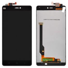 Дисплей Xiaomi Mi4c с тачскрином в сборе, без рамки,  цвет black, copy
