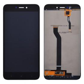 Дисплей для Xiaomi Redmi 5A с тачскрином в сборе,  цвет черный, без рамки, копия