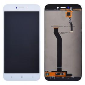 Дисплей для Xiaomi Redmi 5A с тачскрином в сборе, без рамки,  цвет белый, копия