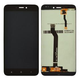 Дисплей для Xiaomi Redmi 5A с тачскрином в сборе, оригинал, без рамки,  цвет черный