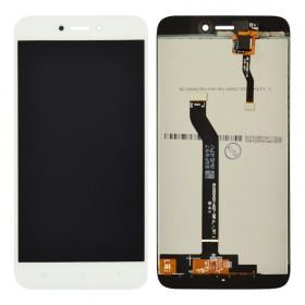 Дисплей для Xiaomi Redmi 5A с тачскрином в сборе, оригинал, без рамки,  цвет белый