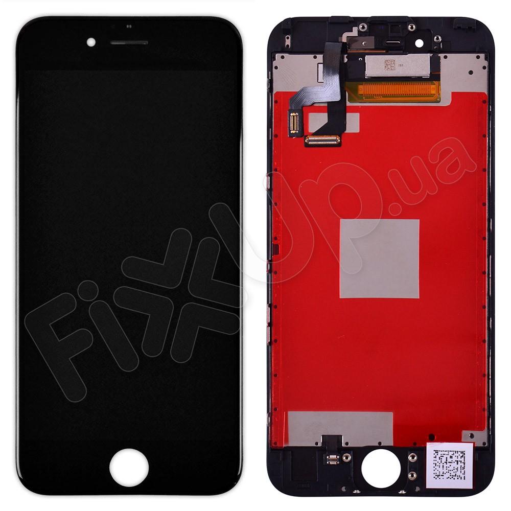 Дисплей iPhone 6S (4.7) с тачскрином в сборе (цвет черный) фото 1