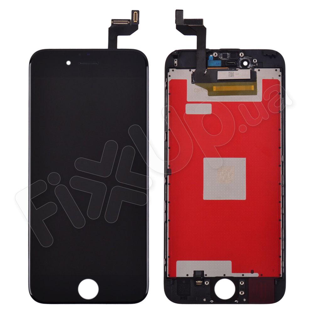 Дисплей iPhone 6S с тачскрином в сборе, цвет черный, оригинальная подсветка фото 1