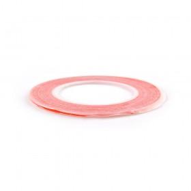 Двухсторонний скотч для приклеивания сенсоров (тачскринов), красный, 3 мм