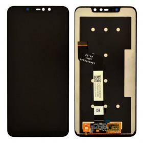 Дисплей для Xiaomi Redmi Note 6 Pro с тачскрином в сборе, без рамки, копия высокого качества,  цвет черный
