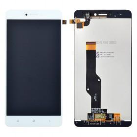 Дисплей для Xiaomi Redmi Note 4, Note 4X Snapdragon 625 с тачскрином в сборе, #bv055fhm-n00-1909_r1.0,  цвет белый, копия высокого качества, без рамки