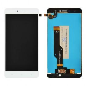 Дисплей для Xiaomi Redmi Note 4, Note 4X Snapdragon 625 с тачскрином в сборе, #bv055fhm-n00-1909_r1.0, оригинал, без рамки,  цвет белый